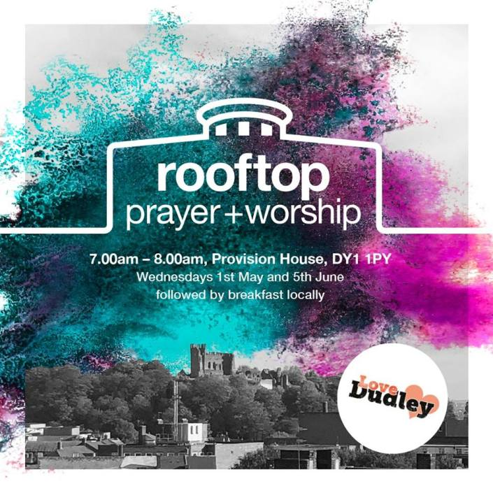 Rooftop prayer Dudley (June 2019)
